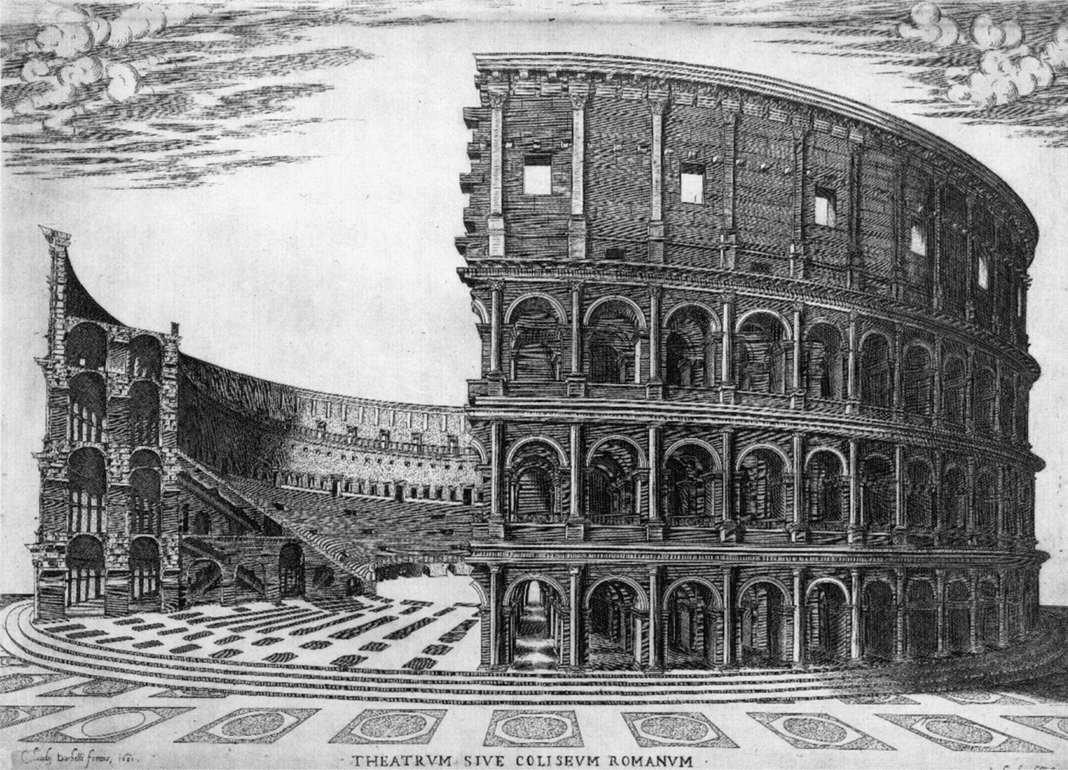 Колизей рим в миниатюре